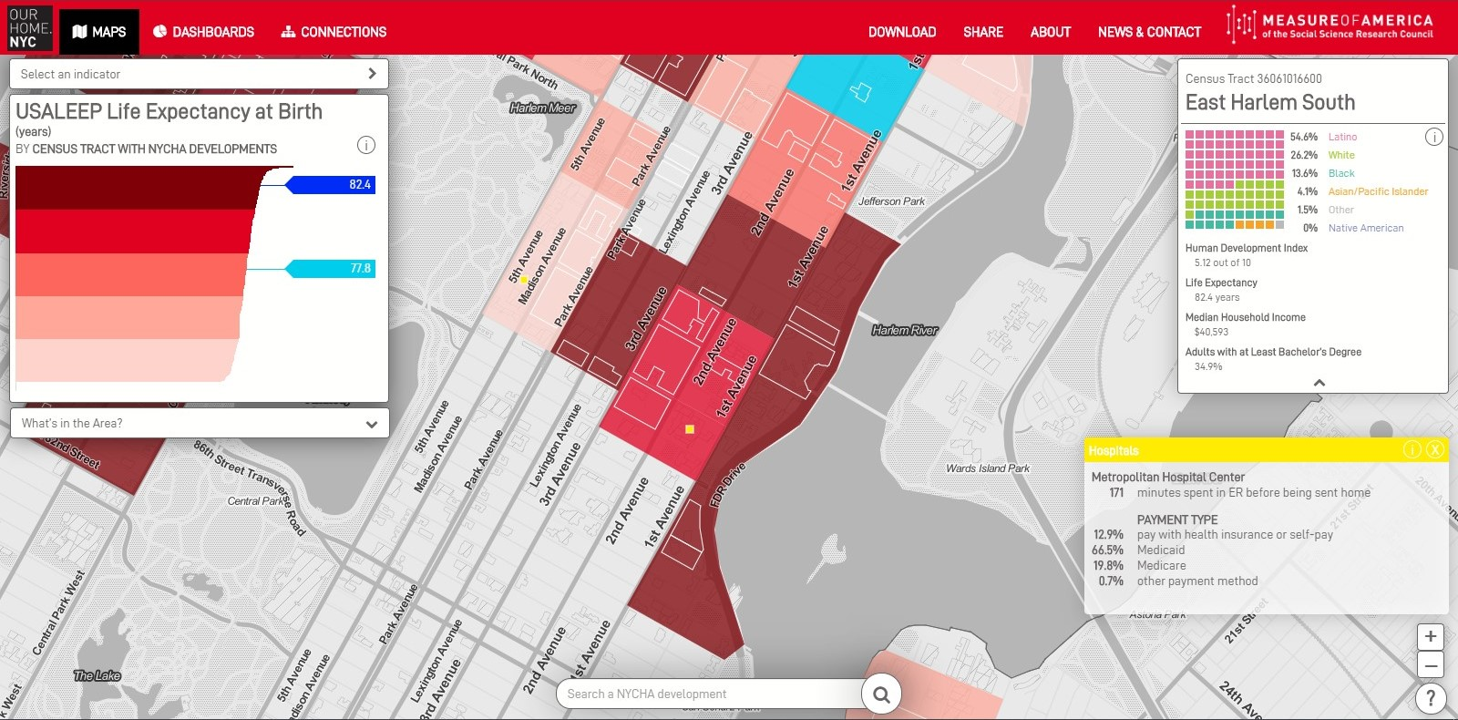 Our Home NYC Map View